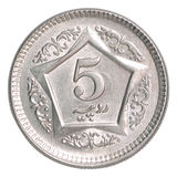 Pakistani rupees coin Royalty Free Stock Photography
