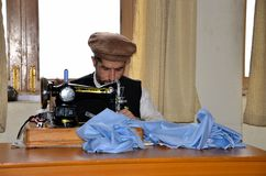 Pakistani Swat Taliban member undergoes rehabilitation at vocational center Stock Images