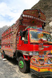 Pakistani truck Royalty Free Stock Image