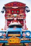 Pakistani truck art stock photos