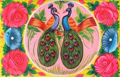 Free Pakistani Truck Art Pigeon And Love Royalty Free Stock Photos - 42281278