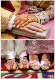 Pakistani wedding Royalty Free Stock Photography