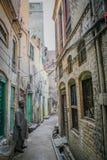 Pakistanische Männer in alter Stadt Multans Stockbild