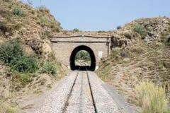 Pakistansk järnväg linje ingen bro för sikt: 9 Peshawar till Nowshera Arkivbilder