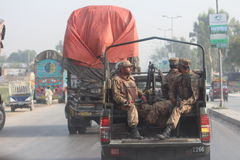 Pakistansk militär royaltyfri foto