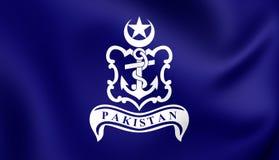Pakistansk sjö- stålar royaltyfri illustrationer