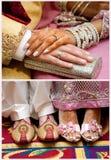 pakistanskt bröllop Royaltyfri Fotografi