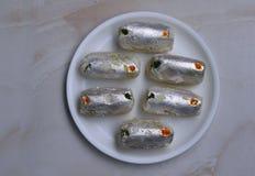 Pakiza, indischer delicioug Bonbon Lizenzfreies Stockfoto