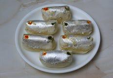 Pakiza, indischer delicioug Bonbon Lizenzfreies Stockbild