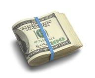 Pakje van Geld royalty-vrije stock afbeeldingen