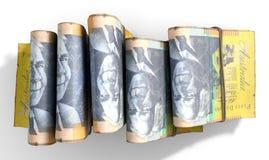 Pakjes van het Licht van de Nota'sstapel Stock Foto