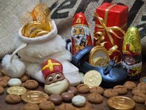 Pakjesavond, St Nicholas Day Photo libre de droits