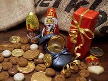 Pakjesavond, St Nicholas dzień Zdjęcie Royalty Free
