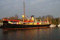 Pakjesboot 12 - Hydrograaf -  Ship Sinterklaas Stock Photo