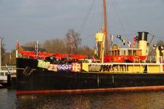 Pakjesboot 12 - Hydrograaf -  Ship Sinterklaas Royalty Free Stock Image