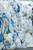 Pakken en Voorraden van Verpakt Schrootplastiek Specifiek voor Eco Recy royalty-vrije stock fotografie