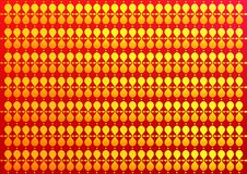 Pakket designwith heldere en boeiende kleuren voor gift royalty-vrije illustratie