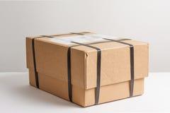 Pakket met het vastbinden Royalty-vrije Stock Afbeeldingen