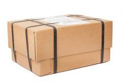 Pakket met het vastbinden Royalty-vrije Stock Foto's