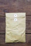 Pakket op hout Stock Foto