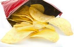 Pakket van Chips Royalty-vrije Stock Foto's