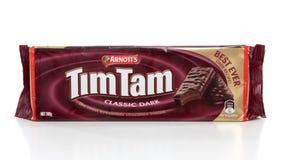 Pakket van de chocoladekoekjes van Tim Tam Royalty-vrije Stock Fotografie