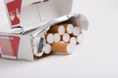 Pakket van sigaretten Royalty-vrije Stock Afbeeldingen