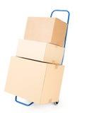 pakketten Stock Afbeeldingen