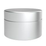 Pakketten van de de zorg de kosmetische container van de huid Stock Foto's