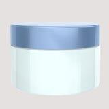 Pakketten van de de zorg de kosmetische container van de huid Stock Foto