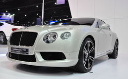 Bentley Continental GT V8, Bangkok Motorshow Royalty Free Stock Images
