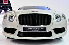 Bentley Continental GT V8 at International Motorsh Stock Photos