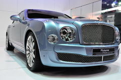 Bentley Mulsanne at International Motorshow Royalty Free Stock Photo