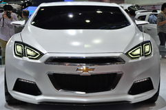 Chevrolet Tru 140S Concept at Bangkok Internationa royalty free stock images