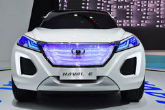 Environment-friendly concept Haval E SUV Royalty Free Stock Image