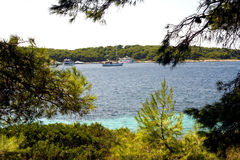 Pakleni Islands - HVAR - Croatia Royalty Free Stock Photo