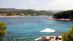 PAKLENI islands in HVAR - Croatia Royalty Free Stock Photo