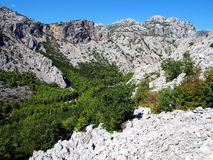 Paklenica National Park Stock Image