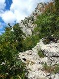 Paklenica National Park. Scenic mountain landscape in beautiful national park Paklenica in Croatia Royalty Free Stock Photo