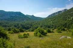 Paklenica Nationalpark Хорватия Стоковая Фотография
