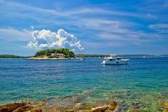Paklenski islands of Hvar yachting destination Stock Photo