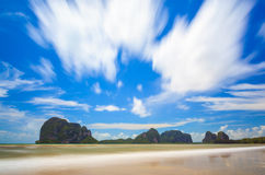 Pakmeng Beach,Trang, Thailand Royalty Free Stock Photos
