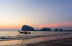 PAKMENG plaża Zdjęcie Stock