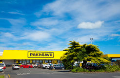 Pakn Save store Royalty Free Stock Photography