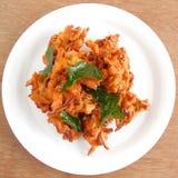 Pakoda Indische Snack stock afbeeldingen