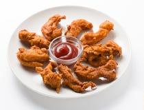 Pakoda picante da galinha Fotos de Stock