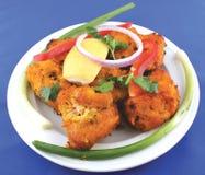 Pakora indiano dos peixes imagem de stock