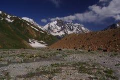 Pakora trek. Nice view very close pakora pass, lot of river cross Royalty Free Stock Image