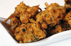 Pakoras végétariens Photo stock