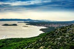 Pakostane in Croatia Stock Images